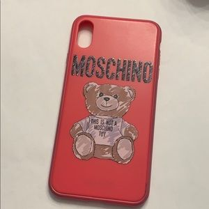 Used IPhone XS Max Moschino phone case